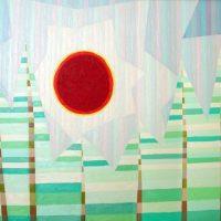 冬の太陽(1988/F60号)
