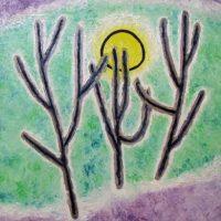 林間の太陽(1984/F20号)