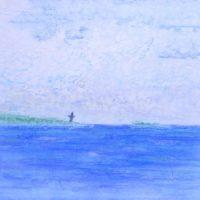 船上からの景色(1985/四六4切)