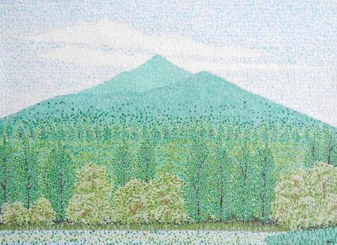 利尻(1984/四六4切)