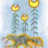 アメーバー植物(1986/B3)