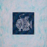 トジコメラレタ魚(1985/F10号)